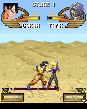 Download free game for mobile phone: Dragon ball Z: Saiyan fighters - download mobile games for free.