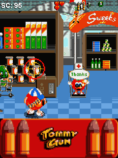 Download free mobile game: Tommy Gun - download free games for mobile phone.