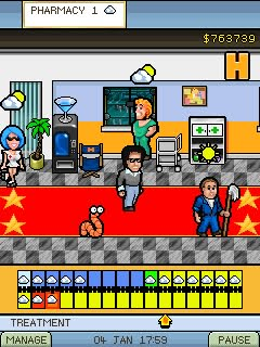 Jeu mobile L'Hôpital de Hollywood - captures d'écran. Gameplay Hollywood Hospital.