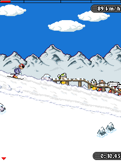 Mobile game Alpine Challenge 2 - screenshots. Gameplay Alpine Challenge 2.