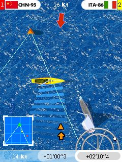 Download free game for mobile phone: Americas Cup Racer - download mobile games for free.
