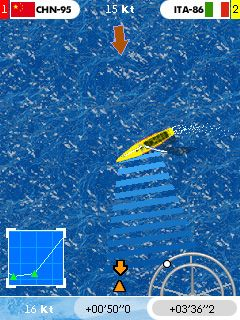 Mobile game Americas Cup Racer - screenshots. Gameplay Americas Cup Racer.