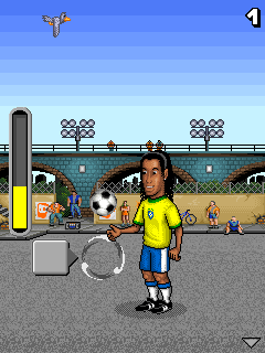 Download free mobile game: Ronaldinho: Total Control - download free games for mobile phone.