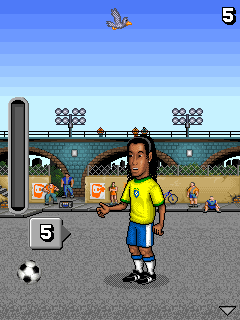Download free game for mobile phone: Ronaldinho: Total Control - download mobile games for free.