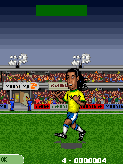Mobile game Ronaldinho: Total Control - screenshots. Gameplay Ronaldinho: Total Control.