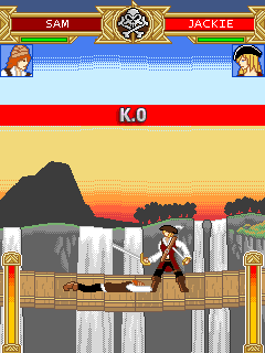 Скриншот java игры Fighters of Caribbean 2. Игровой процесс.