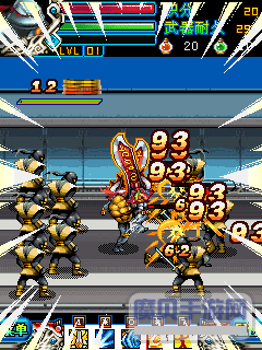 Jogo para celular Teenage Mutant Ninja Turtles - capturas de tela. Jogabilidade As Tartarugas Ninjas Mutantes.