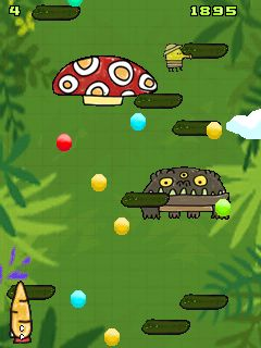Download free mobile game: Doodle Jump: Jungle - download free games for mobile phone.
