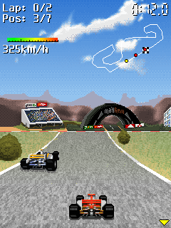 Download free game for mobile phone: Racing Masters 2008 - download mobile games for free.