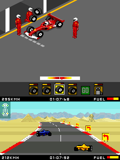 Mobile game Pitstop - screenshots. Gameplay Pitstop.