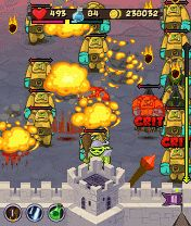 Download free game for mobile phone: Castle Defender - download mobile games for free.