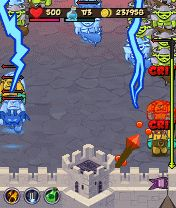 Mobile game Castle Defender - screenshots. Gameplay Castle Defender.