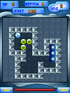 Mobile game Cell Rescue - screenshots. Gameplay Cell Rescue.