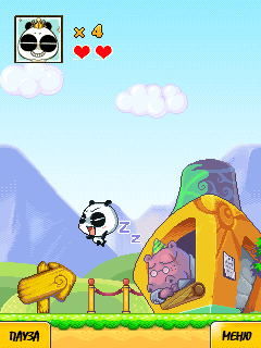 Download free game for mobile phone: Adventure Panda Da - download mobile games for free.