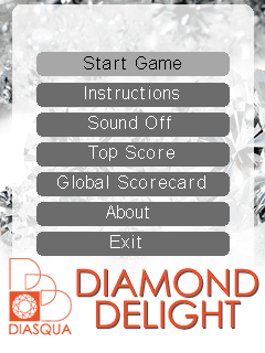 Download free mobile game: Diamond delight - download free games for mobile phone.