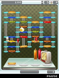 Download free game for mobile phone: Burger Time Delight - download mobile games for free.