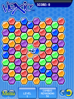 Download free game for mobile phone: Hexic - download mobile games for free.