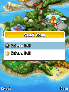 Download free mobile game: Party island: Billiard 2 in 1 - download free games for mobile phone.