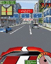 Скриншот java игры Street Race World 3D. Игровой процесс.