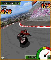 Mobile game GP Bikes 3D - screenshots. Gameplay GP Bikes 3D.