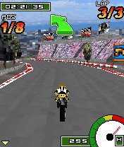 Download free mobile game: GP Bikes 3D - download free games for mobile phone.