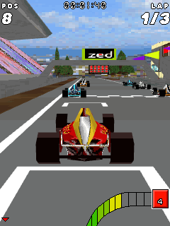 Mobile game FR Formula Racing 3D - screenshots. Gameplay FR Formula Racing 3D.