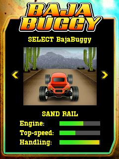 Download free mobile game: Baja Buggy - download free games for mobile phone.