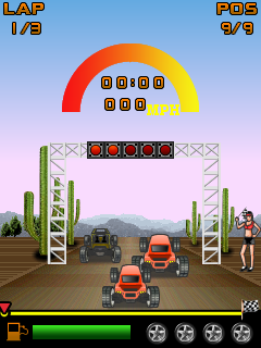 Download free game for mobile phone: Baja Buggy - download mobile games for free.