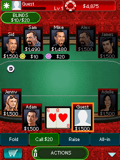 Download free game for mobile phone: Texas Hold'Em Poker 3 - download mobile games for free.