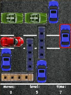 Download free mobile game: Parking - download free games for mobile phone.