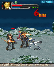 Mobile game Guilty Gear X mobile - screenshots. Gameplay Guilty Gear X mobile.