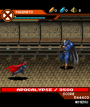 Mobile game X-men Legends 2: Rise of Apocalypse - screenshots. Gameplay X-men Legends 2: Rise of Apocalypse.