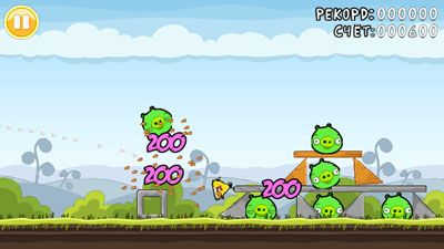Mobile game Angry Birds Dma4o MOD - screenshots. Gameplay Angry Birds Dma4o MOD.