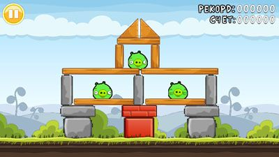 Download free game for mobile phone: Angry Birds Dma4o MOD - download mobile games for free.