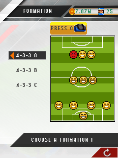 Mobile game Real Football Manager 2013 - screenshots. Gameplay Real Football Manager 2013.
