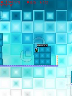 Скриншот java игры The Ice Castle. Игровой процесс.