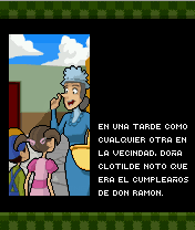 Mobil-Spiel Chavo: Die Faust des Don Ramons - Screenshots. Spielszene Chavo: The Fist of Don Ramon.