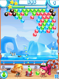 Jeu mobile Le Coup de Boules 3 - captures d'écran. Gameplay Bubble Bash 3.