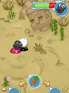 Download free game for mobile phone: Goosy pets: Sheep - download mobile games for free.