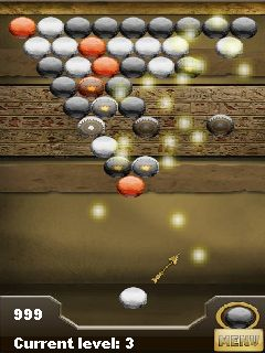 Download free mobile game: Bubbles The Temple of Pharaoh - download free games for mobile phone.