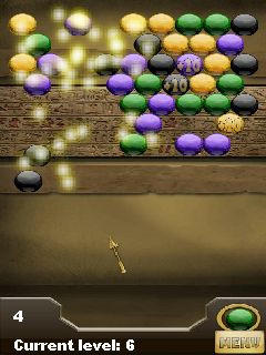 Download free game for mobile phone: Bubbles The Temple of Pharaoh - download mobile games for free.