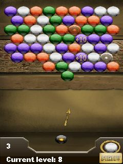 Jeu mobile Les Boules du Temple de Pharaon - captures d'écran. Gameplay Bubbles The Temple of Pharaoh.