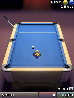Jeu mobile La Vedette de Pool Steve Davis - captures d'écran. Gameplay Steve Davis Pool Star.