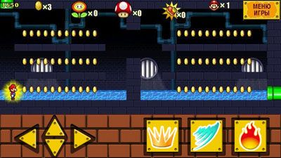 Jeu mobile Super Mario 4 - captures d'écran. Gameplay Super Mario 4.