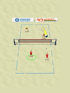 Download free mobile game: Hawaii Beach Volleyball - download free games for mobile phone.