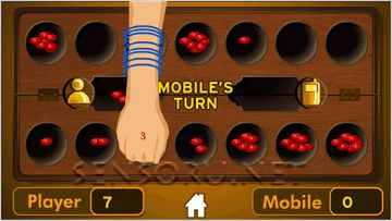 Download free mobile game: Pallankuzhi - download free games for mobile phone.