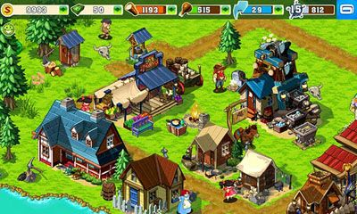 Скриншот java игры The Oregon Trail: American Settlers. Игровой процесс.