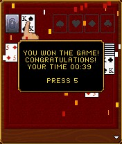 Mobil-Spiel Sехy Solitaire - Screenshots. Spielszene Sехy Solitaire.