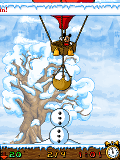 Download free game for mobile phone: Winter Bonus Selection - download mobile games for free.