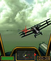 Скриншот java игры FlyBoys: Knights of The Sky. Игровой процесс.